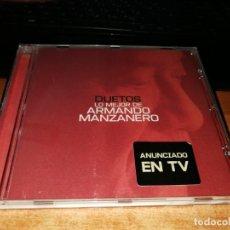 CDs de Música: LO MEJOR DE ARMANDO MANZANERO DUETOS CD ALBUM BOSE ALEJANDRO SANZ MALU RAFA SANCHEZ ALEJANDRO SANZ . Lote 158739662
