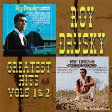 CDs de Música: ROY DRUSKY - GREATEST HITS, VOLS. 1 & 2. Lote 158750198