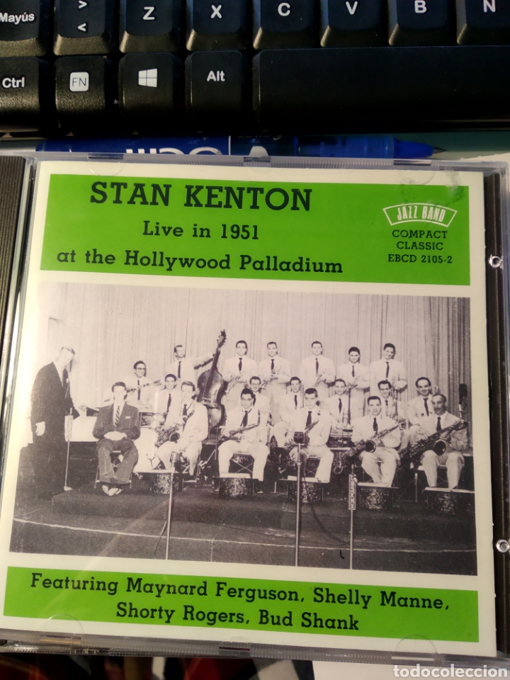 STAN KENTON ‎– LIVE IN 1951 AT THE HOLLYWOOD PALLADIUM (Música - CD's Jazz, Blues, Soul y Gospel)