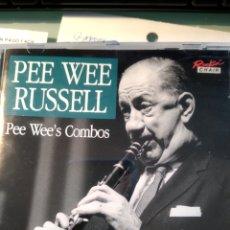 CDs de Música: PEE WEE RUSSELL – PEE WEE'S COMBOS. Lote 158776846