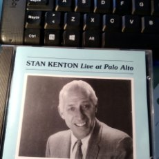 CDs de Música: STAN KENTON ‎– LIVE AT PALO ALTO. Lote 158780426