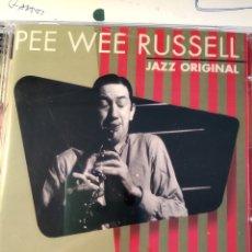 CDs de Música: PEE WEE RUSSELL – JAZZ ORIGINAL. Lote 158785246