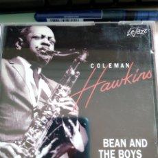 CDs de Música: COLEMAN HAWKINS – BEAN AND THE BOYS. Lote 158799386