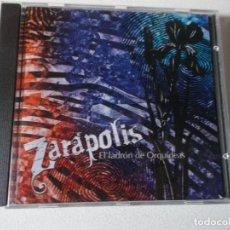CDs de Música: ZARAPOLIS,EL LADRON DE ORQUIDEAS, 2007 GRUPO DE ZARAGOZA UNICA GRABACION. Lote 158805526