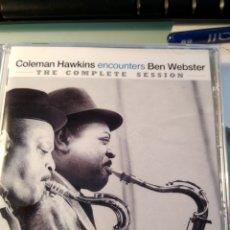 CDs de Música: COLEMAN HAWKINS ENCOUNTERS BEN WEBSTER – (THE COMPLETE SESSION). Lote 158806758
