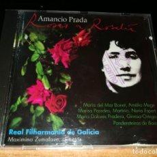 CDs de Música: AMANCIO PRADA ROSAS A ROSALIA CD ALBUM 1997 ESPAÑA MARIA DEL MAR BONET MARTIRIO MARISA PAREDES RARO. Lote 158856106