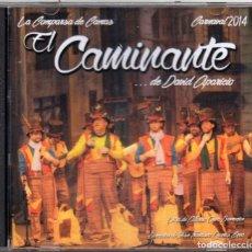CDs de Música: CARNAVAL 2014 COMPARSA DE SEVILLA EL CAMINANTE DE DAVID APARICIO. Lote 158864274