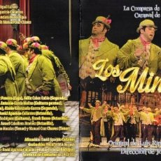CDs de Música: CARNAVAL CADIZ 2015. CD COMPARSA DE SEVILLA DE LUIS RIPOLL. Lote 158864494