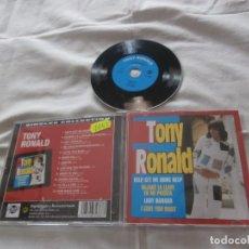 CDs de Música: TONY RONALD CD SINGLES COLLECTION (2000) INCLUYE 12 TEMAS *BUENA CONDICION*. Lote 158888742