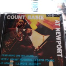 CDs de Música: COUNT BASIE ‎– COUNT BASIE AT NEWPORT. Lote 158920258
