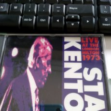 CDs de Música: STAN KENTON AND HIS ORCHESTRA ‎– LIVE AT THE LONDON HILTON 1973, VOL.1. Lote 158923590