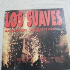 CDs de Música: LOS SUAVES / CD SINGLE / MALAS NOTICIAS / MANERAS DE VIVIR (VERSIÓN DIRECTO Y VERSIÓN ACÚSTICA). Lote 158928776