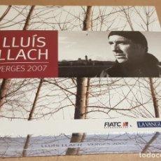 CDs de Música: LLUÍS LLACH / VERGES 2007 / ENREGISTRAT EN DIRECTE / PACK 3 CDS - PRECINTADOS.. Lote 158941630