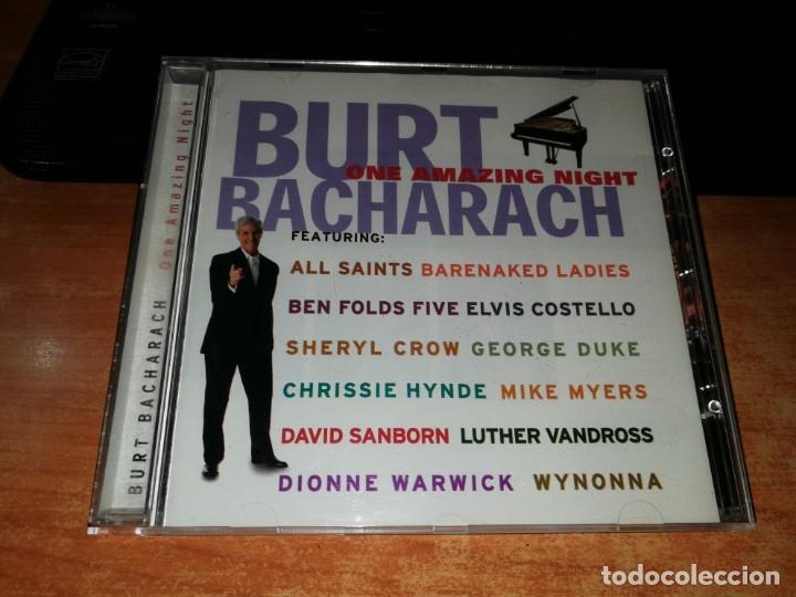 BURT BACHARACH ONE AMAZING NIGHT CD ALBUM 1998 DUOS ELVIS COSTELLO DIONNE WARWICK SHERYL CROW (Música - CD's Jazz, Blues, Soul y Gospel)