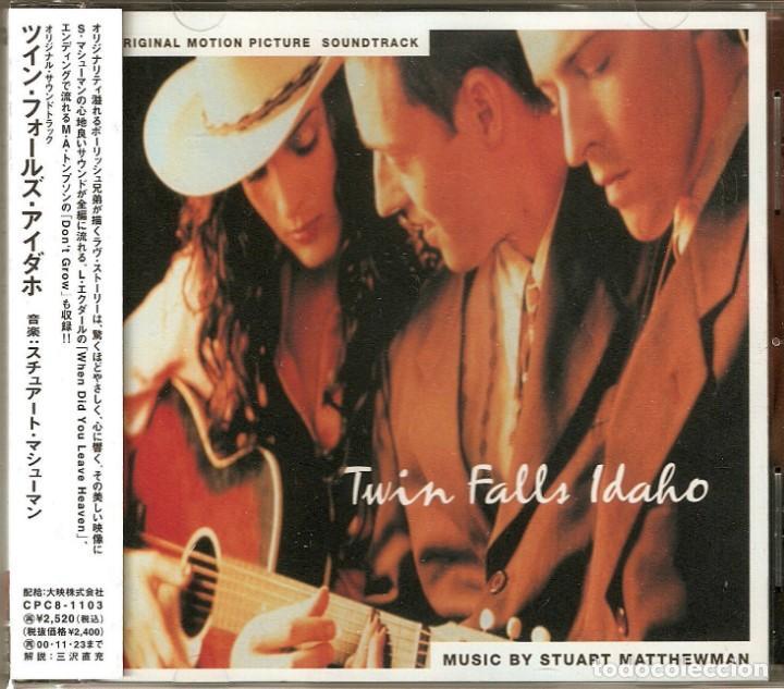 TWIN FALLS IDAHO / STUART MATTHEWMAN CD BSO - JAPAN (Música - CD's Bandas Sonoras)
