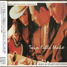CDs de Música: TWIN FALLS IDAHO / STUART MATTHEWMAN CD BSO - JAPAN. Lote 158976410