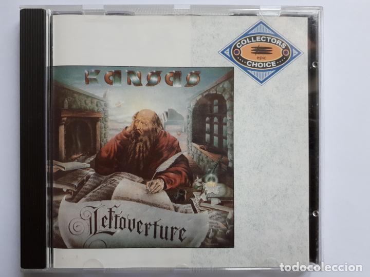 KANSAS - LEFTOVERTURE- EPIC (Música - CD's Rock)