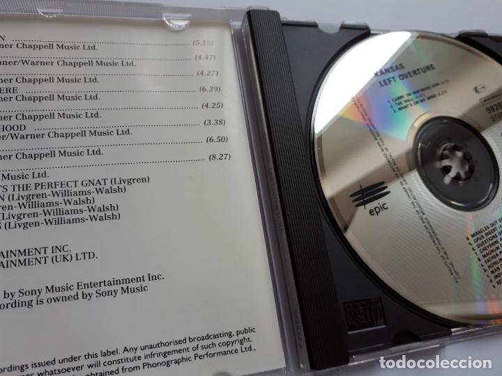 CDs de Música: Kansas - Leftoverture- Epic - Foto 3 - 158979874