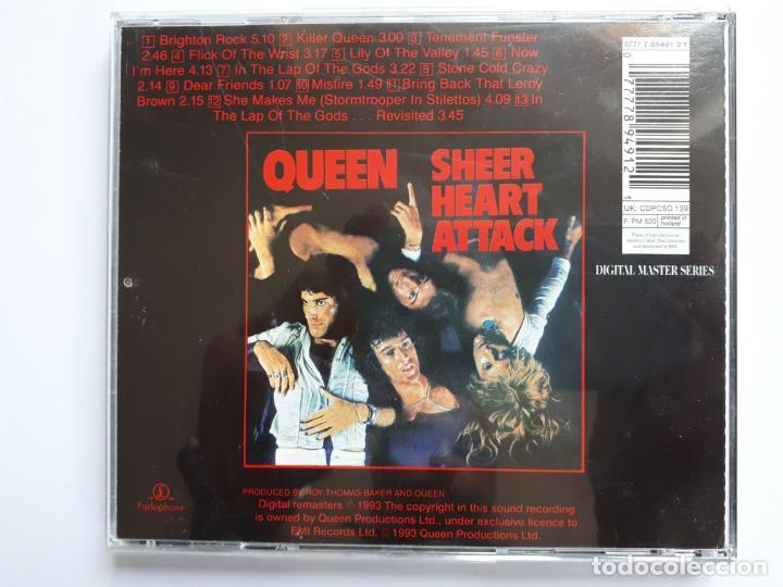 CDs de Música: Queen - Sheer Heart Attack - Foto 2 - 158980914