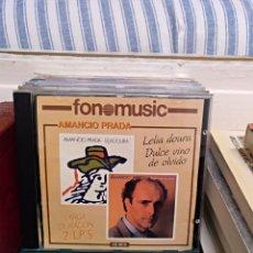 CDs de Música: AMANCIO PRADA, LELIA DOURA/DULCE VINO DE OLVIDO. Lote 164976482