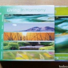 CD de Música: LIVING IN HARMONY, SET 5 CD. RELAXATION,SLEEP,HEALING,FENG SHUI,AROMATHERAPY.2000 KOMAX. Lote 158986224