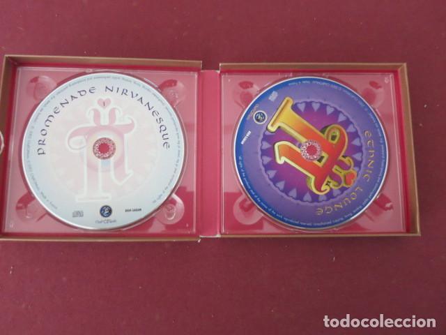 CDs de Música: 2 CD DOBLE MUSICA NIRVANA LOUNGE 02 BY CLAUDE CHALLE ETNIC & PROMENADE - Foto 3 - 159005810