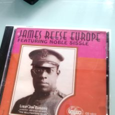 CDs de Música: JAMES REESE EUROPE FEATURING NOBLE SISSLE ‎– THE COMPLETE PATHÉ RECORDINGS - 1919 (RARÍSIMO). Lote 159006690