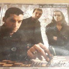 CDs de Música: LA ÚLTIMA TENTACIÓN / A CARA DESCUBIERTA / CD - EXPO MUSIC / 13 TEMAS / PRECINTADO / DIFÍCIL. Lote 159010638