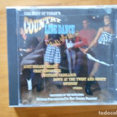 CDs de Música: CD THE BEST OF TODAY'S COUNTRY LINE DANCE FAVORITES (CR). Lote 159027958