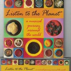 CDs de Música: LISTEN TO THE PLANET - VARIOS (CD, MILAN RECORDS 1996). Lote 159039078