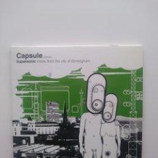 CDs de Música: CAPSULE PRESENTS SUPERSONIC TREATS FROM THE CITY OF BIRMINGHAM.CD.CARTON. Lote 159067398