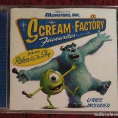 CDs de Música: B.S.O. MONSTERS, INC. (SCREAM FACTORY - FAVOURITES) CD 2002 - DISNEY PIXAR. Lote 159072622