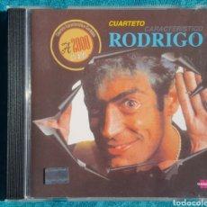 CDs de Música: RODRIGO. CUARTETO CARACTERÍSTICO CORDOBÉS. CD.ARGENTINA. RARO. Lote 159105732
