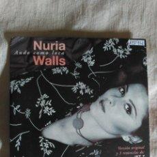 CDs de Música: RARE PROMO CD MAXI NURIA WALLS - ANDO COMO LOCA - SPAIN 2001 VG+ JET 7 SPUNKY. Lote 159108826