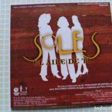 CDs de Música: RARE SPLIT CD SINGLE SOLES / ANGEL PASTOR - EL AIRE DE TI / NACER Y MORIR - EX. Lote 159109342