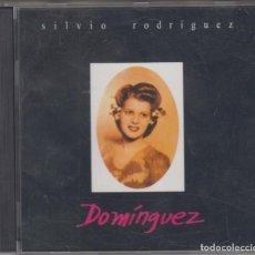 CDs de Música: SILVIO RODRÍGUEZ CD DOMÍNGUEZ 1996 EDICIÓN ARGENTINA. Lote 159118254