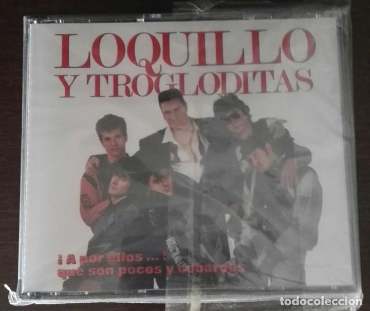 LOQUILLO Y TROGLODITAS - A POR ELLOS QUE SON POCOS Y COBARDES 2 CD NUEVO (Música - CD's Rock)