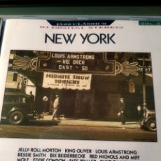 CDs de Música: VARIOUS ‎– NEW YORK. Lote 159168910