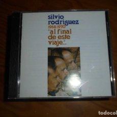 CDs de Música: SILVIO RODRIGUEZ. AL FINAL DE ESTE VIAJE....OJALÁ, EDT. CUBA. IMPECABLE (#). Lote 159184246