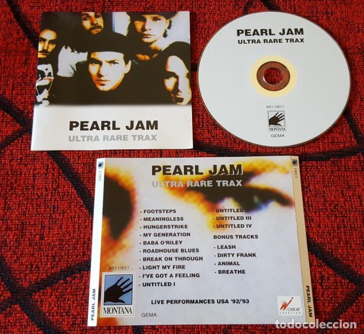 PEARL JAM Ultra Rare Trax LIVE PERFORMANCES 92-93 ORIGINAL CD