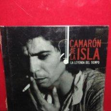 CDs de Música: CAMARON DE LA ISLA : LA LEYENDA DEL TIEMPO (CD-LIBRO EL PAIS). Lote 159243982