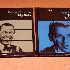 CDs de Música: FRANK SINATRA / LA VOZ / VOLS 1 Y 2 / LIBRO-CD / EL PAIS / 20 TEMAS / DE LUJO.. Lote 159250582