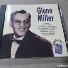 CDs de Música: GLENN MILLER (CD) ORIGINAL JAZZ HISTORY AÑO 1994. Lote 159274182