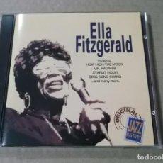CDs de Música: ELLA FITZGERALD (CD) ORIGINAL JAZZ HISTORY AÑO 1994. Lote 159274454