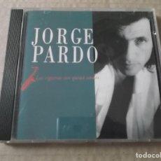 Music CDs - JORGE PARDO (CD) LAS CIGARRAS SON QUIZA SORDAS AÑO 1991 - 159276974
