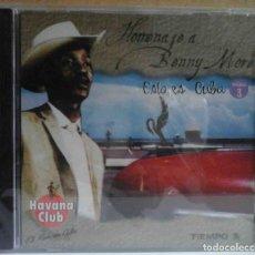 CDs de Música: CD PRECINTADO: HOMENAJE A BENNY MORE - ESTO ES CUBA 3. Lote 159278610