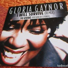 CDs de Música: GLORIA GAYNOR- MAXI-CD- TITULO I WILL SURVIVE-REMIX- 2 TEMAS. ORIGINAL DEL 2000- . Lote 159284234