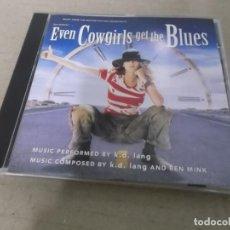 CDs de Música: EVEN COWGIRLS GET THE BLUES (CD) K.D. LANG AÑO 1993. Lote 159289330