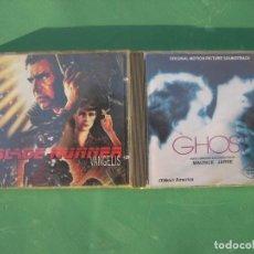 CDs de Música: GHOST Y BLADE RUNNER 2 BSO. Lote 159325218