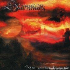 CDs de Música: SARUMAN – RIDE ON THE DARKSIDE --DEATH BLACK. Lote 159351522